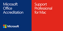 Microsoft Office Accreditation - Support Professional for Mac